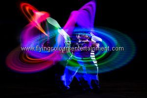 Glow LED Light Juggling Acts